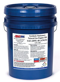 AMSOIL Synthetic Stationary Natural Gas Engine Oil