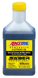 AMSOIL SABER® Professional Synthetic 2-Stroke Oil