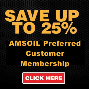 Save up to 25% on Amsoil Products